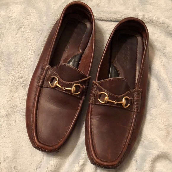 b5df135759e Gucci Shoes - Beautiful brown Gucci loafers .